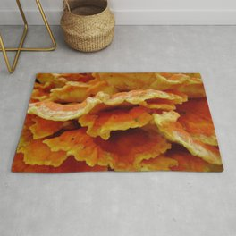 Chicken of the Woods (Laetiporus) Rug