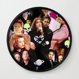 Everyone's Favorite FBI Agents Wall Clock