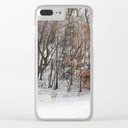 Foot Prints Clear iPhone Case