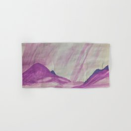 It's raining purple Hand & Bath Towel