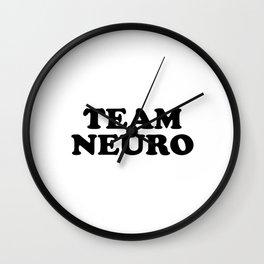 TEAM NEURO Wall Clock
