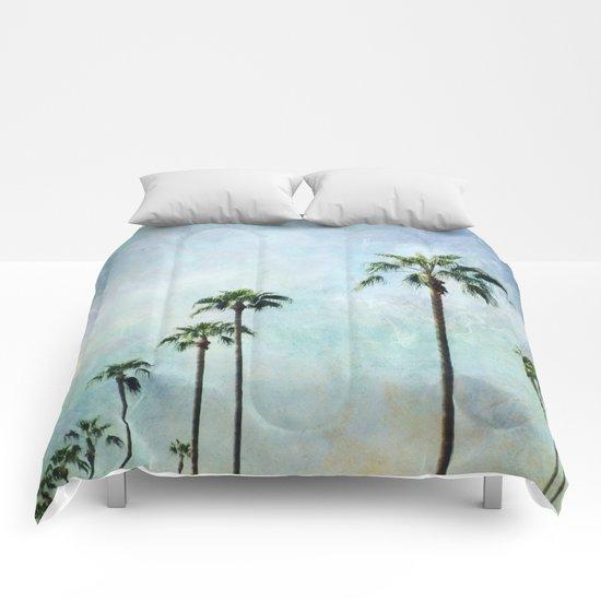 Palm trees Comforters
