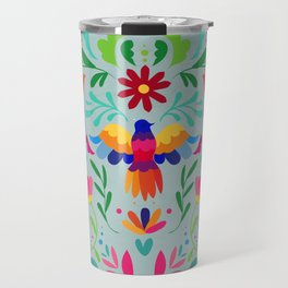 Spring Leaf Colorful Mexican Traditional Travel Mug