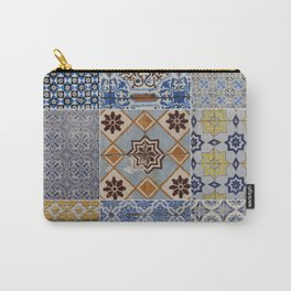 Porto Tiles Collage Carry-All Pouch