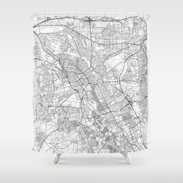Hanover Map Line Shower Curtain