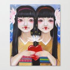 Ren Cho and Shinobu Canvas Print