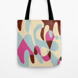 Neopolitan and Ice Tote Bag