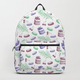 cute french pattern Backpack