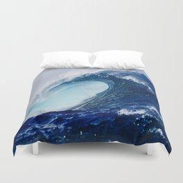 Big Blue Wave Duvet Cover