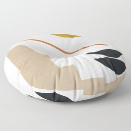 abstract minimal 6 Floor Pillow