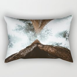 Stand in Awe of the Giant Forest Rectangular Pillow