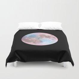 Iridescent Dark Moon Duvet Cover