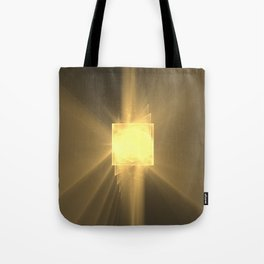 Three Twists Toward The Light Tote Bag