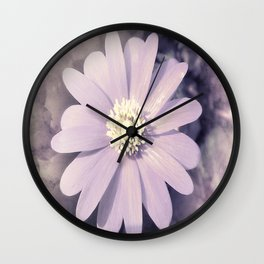 a little anemone Wall Clock