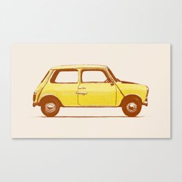 Famous Car #1 - Mini Cooper Canvas Print