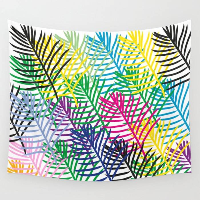 Palmtrees Wall Tapestry