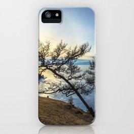Harsh beauty of lake Baikal iPhone Case
