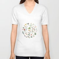 cycle V-neck T-shirts featuring Cycle by Lindgren & Ekberg