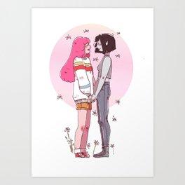 Stakes Art Print