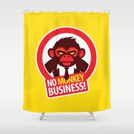 No MONKEY Business! Shower Curtain