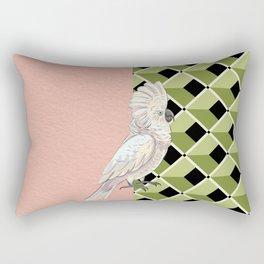 Cockatoo Vibes Rectangular Pillow