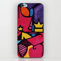 crown iPhone & iPod Skins featuring Crown by Arcturus