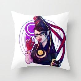 Bayonetta Throw Pillow