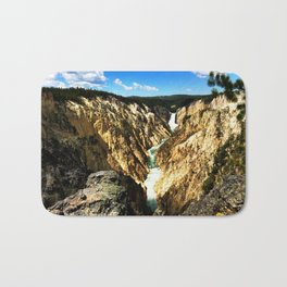 Lower Falls of the Yellowstone Bath Mat