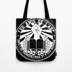 Les Amis de l'ABC frat. logo WHITE Tote Bag