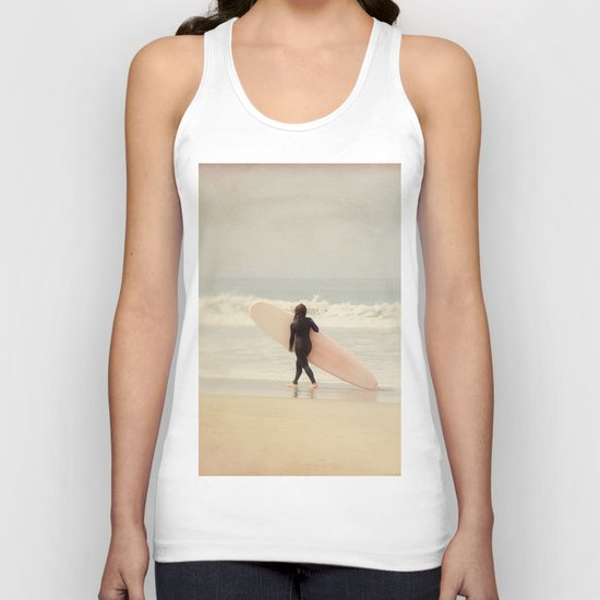 Surf Girl Unisex Tank Top