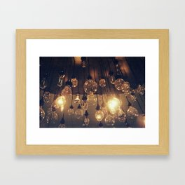 incandescent Framed Art Print