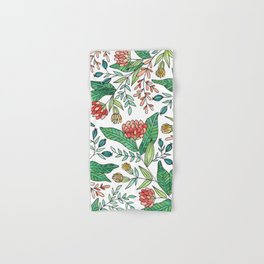 Wildflower Pattern - Full Color Hand & Bath Towel