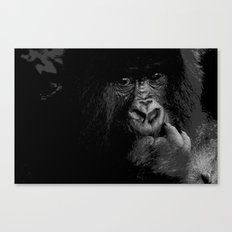 Silver Back Canvas Print