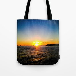 Toast to the Sunset Tote Bag