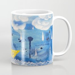 Sailing in the storm Coffee Mug
