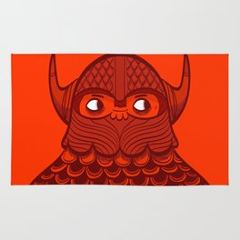 The Crimson Barbarian Rug
