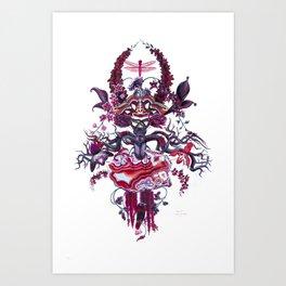 Merlot Art Print