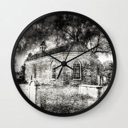 Sleepy Hollow Dutch Church Vintage Wall Clock