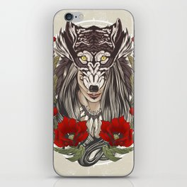 The Wolf's Demise iPhone Skin