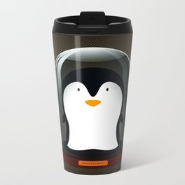 Pickled Penguin Metal Travel Mug