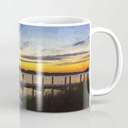 Sunset View in Denbigh Coffee Mug
