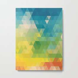 Meduzzle: Colorful Days Metal Print