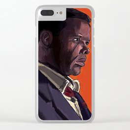 In the Heat of the Night Clear iPhone Case