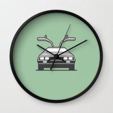 #4 Delorean Wall Clock