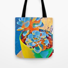 Succulent on the windowsill. Tote Bag