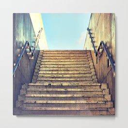 This Way Up Metal Print