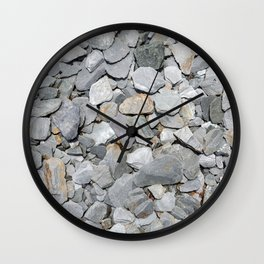Slate Chipping Overhead Wall Clock
