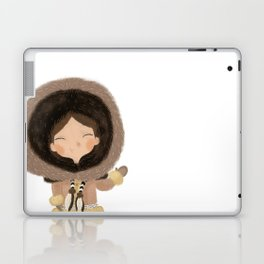 Cute eskimo Laptop & iPad Skin