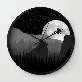 MTB Moon Wall Clock
