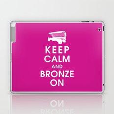 Keep Calm and Bronze On Laptop & iPad Skin